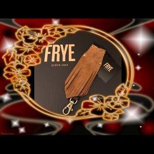 Frye Fringe Key Hider HandTag Color Fawn NWT!♥️🛍